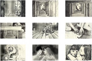 01. Clement PAGE - Détail - Hold your breath - Storyboard - The Seduction (...)