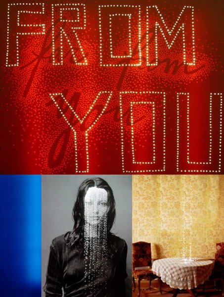 Daniele BUETTI - From you 2004 - Tirage photo sur aluminium perforés - (...)