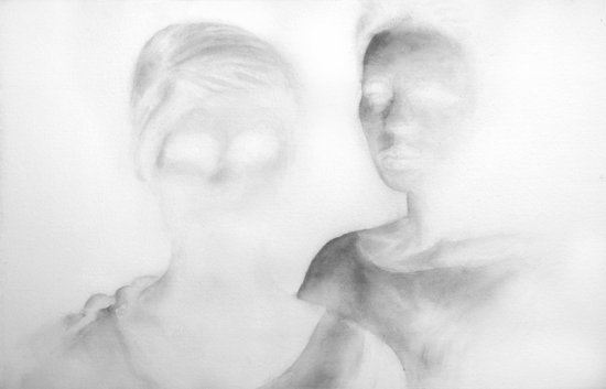 03. Clement PAGE - To be two - Aquarelle sur papier Arches 640 grms - 2011 (...)